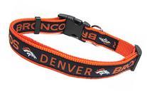 Pets First NFL Denver Broncos Pet Collar, Medium