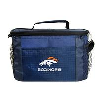NFL Denver Broncos Insulated Lunch Cooler Bag with Zipper