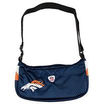NFL Denver Broncos Jersey Team Purse, 12 x 3 x 7-Inch, Navy