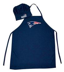 NFL New England Patriots Chef Hat and Apron Set