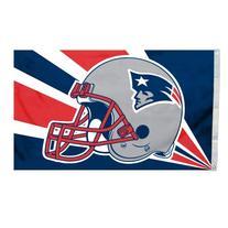 Fremont Die NFL New England Patriots 3-by-5 Foot Helmet Flag