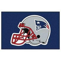 FANMATS NFL New England Patriots Nylon Face Starter Rug