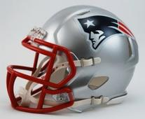 Riddell Revolution Speed Mini Helmet - New England Patriots