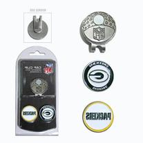 NFL Green Bay Packers Cap Clip With 2 Golf Ball Markers