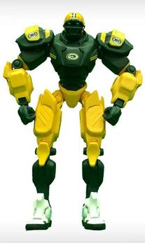 NFL Green Bay Packers 10-Inch Fox Sports Team Robot