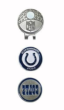 NFL Indianapolis Colts Golfer's Hat Clip & Ball Markers