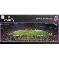 NFL Licensed 1000 piece Panoramic Stadium Masterpieces
