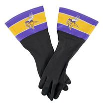 NFL Minnesota Vikings Dish Gloves, One Size, Black