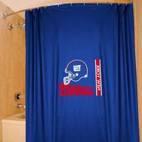 NFL New York Giants 72'' x 72'' Royal Blue Shower Curtain