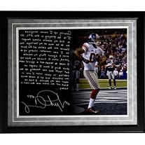 NFL New York Giants Framed 16x20 Victor Cruz Facsimile '