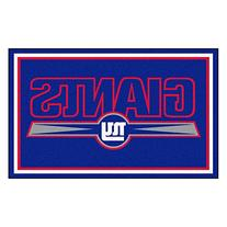 NFL New York Giants Novelty Mat - Size: 4' x 6