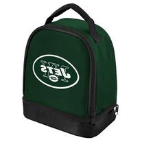NFL New York Jets Double Compartment Lunch Cooler, Green