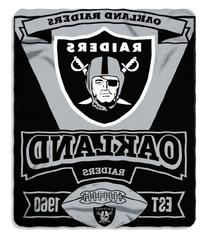 The Northwest Company NFL Oakland Raiders Marque Printed