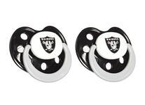 NFL Oakland Raiders 2 Pack Pacifier