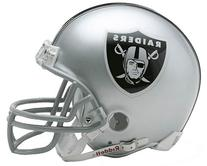 NFL Oakland Raiders Replica Mini Football Helmet