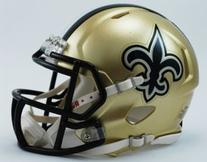 Riddell New Orleans Saints NFL Replica Speed Mini Football