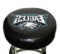NFL Philadelphia Eagles Black Team Logo Bar Stool Cover