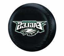 NFL Philadelphia Eagles Tire Cover, Black, Large