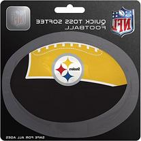 NFL Pittsburgh Steelers Kids Quick Toss Softee Football,