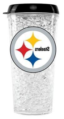 NFL Pittsburgh Steelers Duck House Crystal Tumbler with