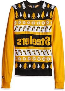 NFL Pittsburgh Steelers One Too Many Ugly Sweater, Large,