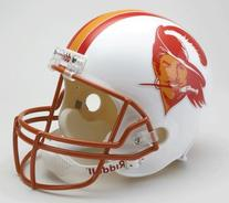 Tampa Bay Buccaneers 1976-96 Throwback Riddell Deluxe