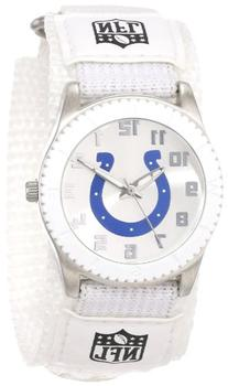 """Game Time Unisex NFL-ROW-IND """"Rookie White"""" Watch -"""