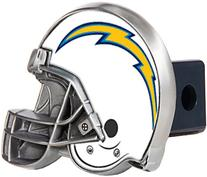 NFL San Diego Chargers Trailer Hitch Cover HIGH POLISH METAL