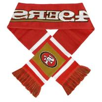NFL San Francisco 49ers 2012 Team Stripe Scarf, Red/White/