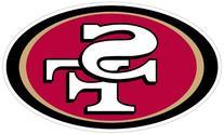 """NFL San Francisco 49ers 8"""" Automotive Magnet"""
