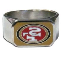 NFL San Francisco 49ers Steel Bottle Opener, Ring Size 10