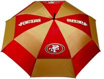 NFL San Fransisco 49ers 62-Inch Double Canopy Umbrella