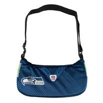 NFL Seattle Seahawks Jersey Team Purse, 12 x 3 x 7-Inch,