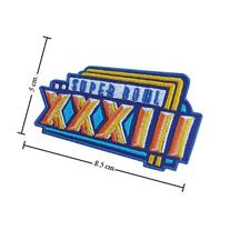 NFL Super Bowl XXXIII 1998 Style-33 Embroidered Sew On Patch