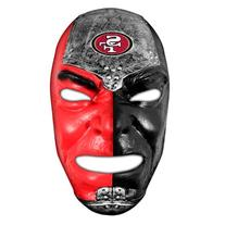 Franklin Sports NFL San Francisco 49ers Team Fan Face Mask