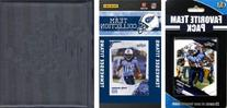 NFL Tennessee Titans Licensed 2010 Score Team Set and Favorite Player Trading Card Pack Plus Storage Album