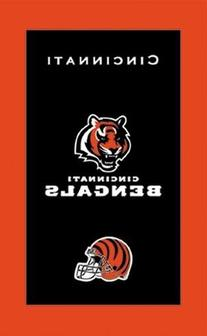KR NFL Towel Cincinnati Bengals