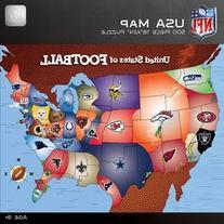 MasterPieces NFL Map Puzzle