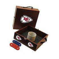 NFL Washer Toss Game Set - NFL Team: Kansas City Chiefs