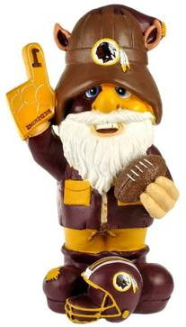 NFL Washington Redskins Thematic Gnome - 2nd Version