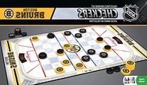 NHL Boston Bruins Checkers, Gray, Small