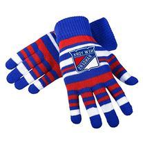 NHL Hockey Team Logo Stretch Gloves - Pick Team