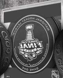 NHL Licensed Official Game Puck from the 2013 Stanley Cup