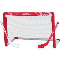 Franklin Sports NHL Detroit Red Wings Mini Hockey Set