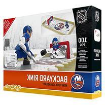 NHL New York Islanders Backyard Rink Set, Small, Black