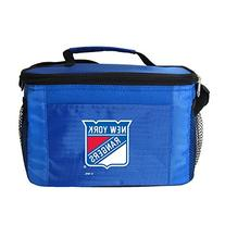 NHL New York Rangers Insulated Lunch Cooler Bag with Zipper