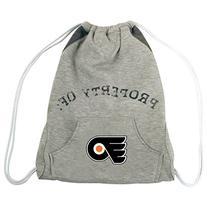 NHL Philadelphia Flyers Hoodie Cinch Backpack, 14 x 17-Inch