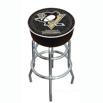 NHL Pittsburgh Penguins Padded Swivel Bar Stool