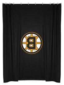 NHL Boston Bruins Shower Curtain