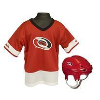 Franklin Sports NHL Carolina Hurricanes Youth Uniform Set